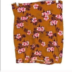 ♦️ Large mini body con skirt Charlotte Russe